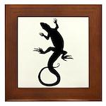 Cool Reptile Lizard Framed Tile