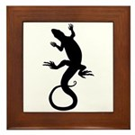 Cool Reptile Lizard Framed Tile