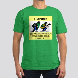 umpire t-shirts presents Men's Fitted T-Shirt (dar
