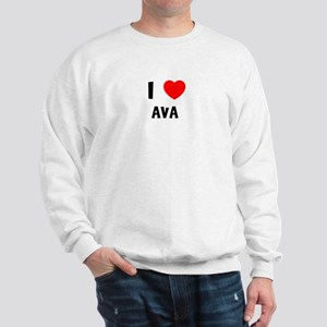 I LOVE AVA Sweatshirt