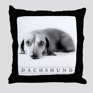 Elegantly Trimmed Dachshund Lover's Classic Pillow