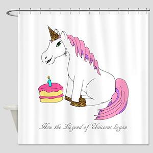Unicorn Legend Shower Curtain
