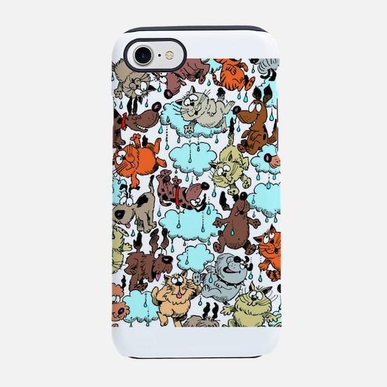 Raining Cats Dogs iPhone 7 Tough Case