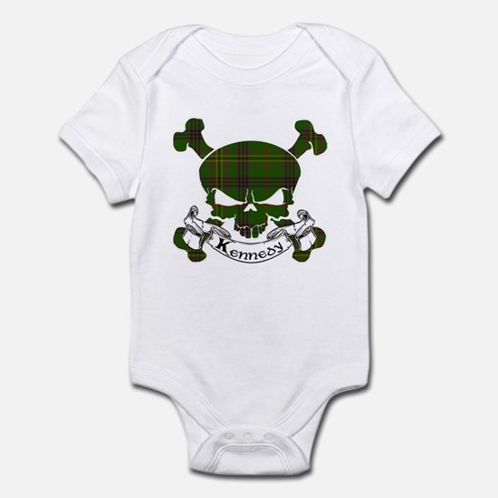 Kennedy Tartan Skull Infant Bodysuit