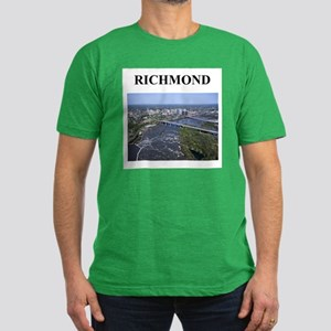 richmond gifts and t-shirts Men's Fitted T-Shirt (