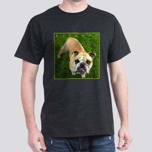 Bulldog Lover's Striking Black T-Shirt, NEW!!