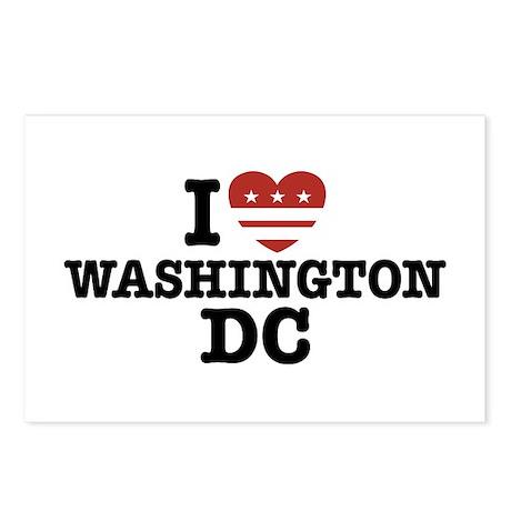 I Love Washington DC Postcards (Package of 8)