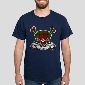 Kidd Tartan Skull Dark T-Shirt