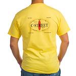 C-Street Surf Spots Yellow T-Shirt