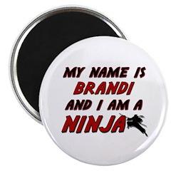 my name is brandi and i am a ninja Magnet