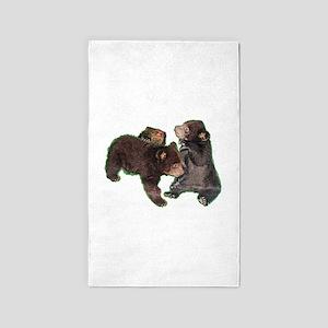 Bear cubs Area Rug