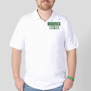 Broderick irish pride Golf Shirt