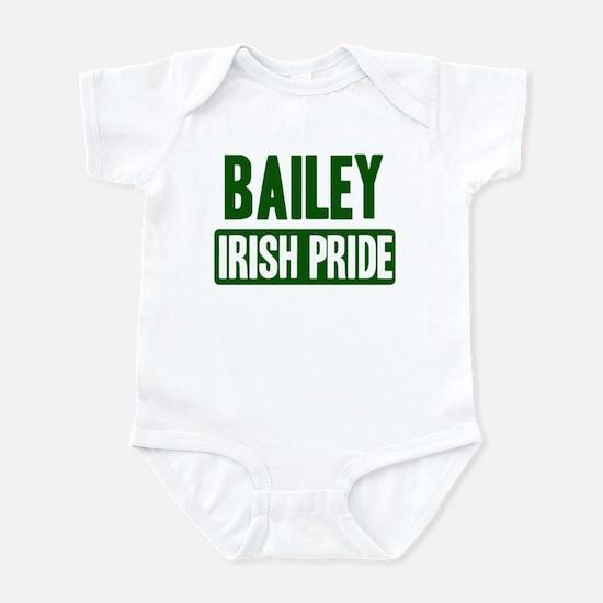 Bailey irish pride Infant Bodysuit