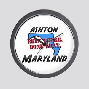 ashton maryland - been there, done that Wall Clock