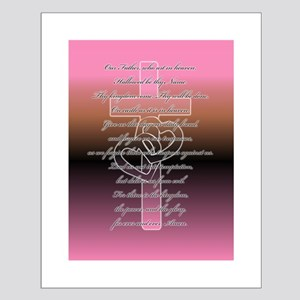 The Lord's Prayer Small Poster