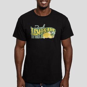 Fresh Lemonade Men's Fitted T-Shirt (dark)