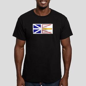 Newfoundland and Labrador Men's Fitted T-Shirt (da