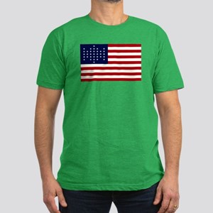 The Union Civil War Flag Men's Fitted T-Shirt (dar