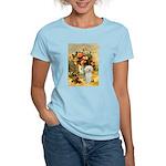 Vase / Poodle (White) Women's Light T-Shirt