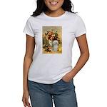 Vase / Poodle (White) Women's T-Shirt