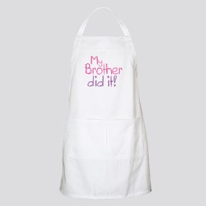 My Brother Did It! BBQ Apron