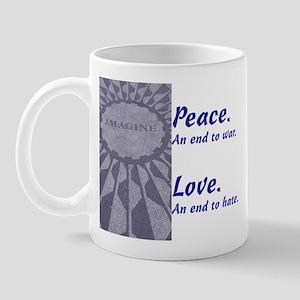 Imagine - Peace & Love Mug