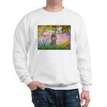 Garden / Poodle (Silver) Sweatshirt