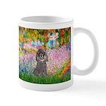 Garden / Poodle (Silver) Mug
