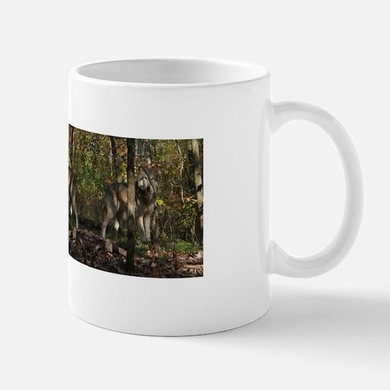 Wolf in Trees Mug