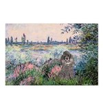 Seine / Poodle (Silver) Postcards (Package of 8)