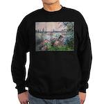 Seine / Poodle (Silver) Sweatshirt (dark)
