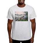 Seine / Poodle (Silver) Light T-Shirt