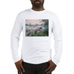 Seine / Poodle (Silver) Long Sleeve T-Shirt