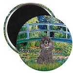 Bridge / Poodle (Silver) Magnet