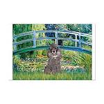 Bridge / Poodle (Silver) Mini Poster Print