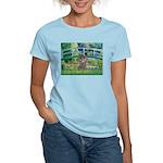 Bridge / Poodle (Silver) Women's Light T-Shirt