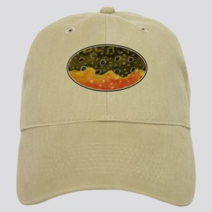 Brook Trout Fly Fishing Cap
