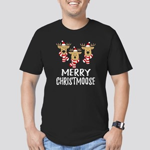 Merry Christmoose Christmas Moose Lover T-Shirt