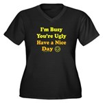Have a Nice Day Sarcastic Women's Plus Size V-Neck