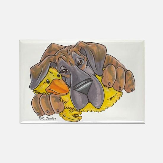NBlBrdl Ducky Rectangle Magnet