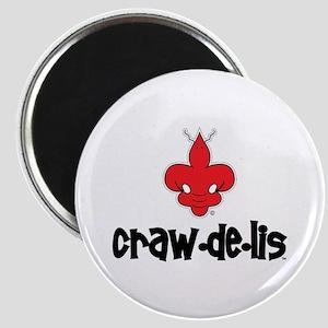 """The ORIGINAL craw-de-lis 2.25"""" Magnet (100 pack)"""