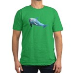 Dolphin Men's Fitted T-Shirt (dark)