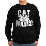 Cat Fanatic Sweatshirt (dark)