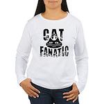 Cat Fanatic Women's Long Sleeve T-Shirt