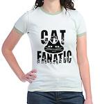 Cat Fanatic Jr. Ringer T-Shirt