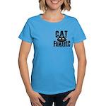 Cat Fanatic Women's Dark T-Shirt