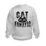 Cat Fanatic Kids Sweatshirt