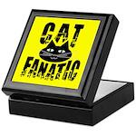 Cat Fanatic Keepsake Box