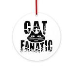 Cat Fanatic Ornament (Round)