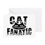 Cat Fanatic Greeting Card